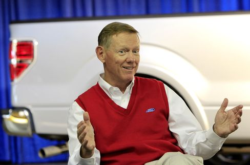 Ford Motor Co. CEO Alan Mulally