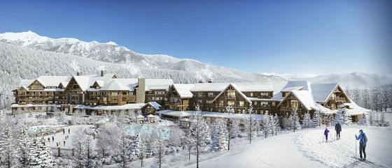Ultra-Luxury $400 Million Hotel Coming to Big Sky Country