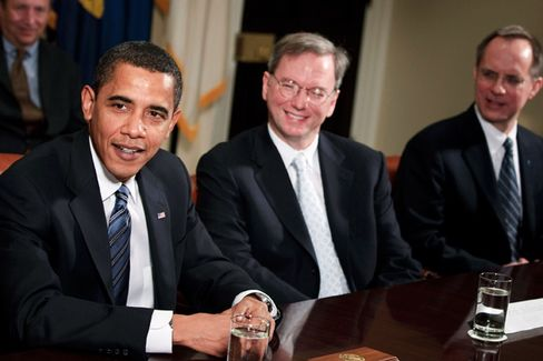 Eric Schmidt: I???m Not Joining the Obama Administration
