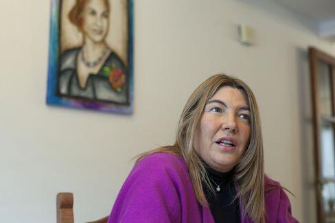 Governor Rosana Bertone.