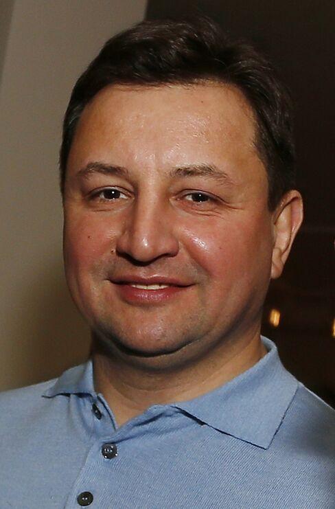 Rosbank Chief Executive Officer Vladimir Golubkov