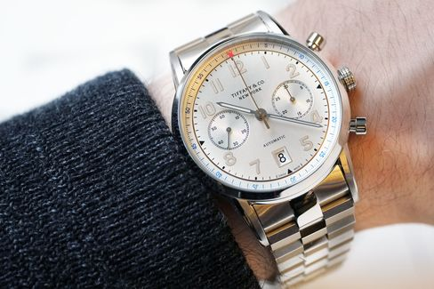 Forget the bracelet but go for the white dial.