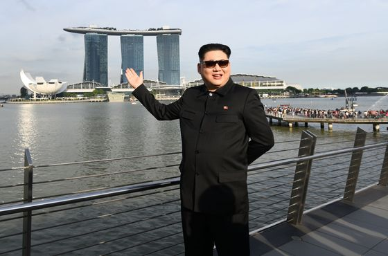 Kim Jong Un Impersonator Snared in Singapore Security Net