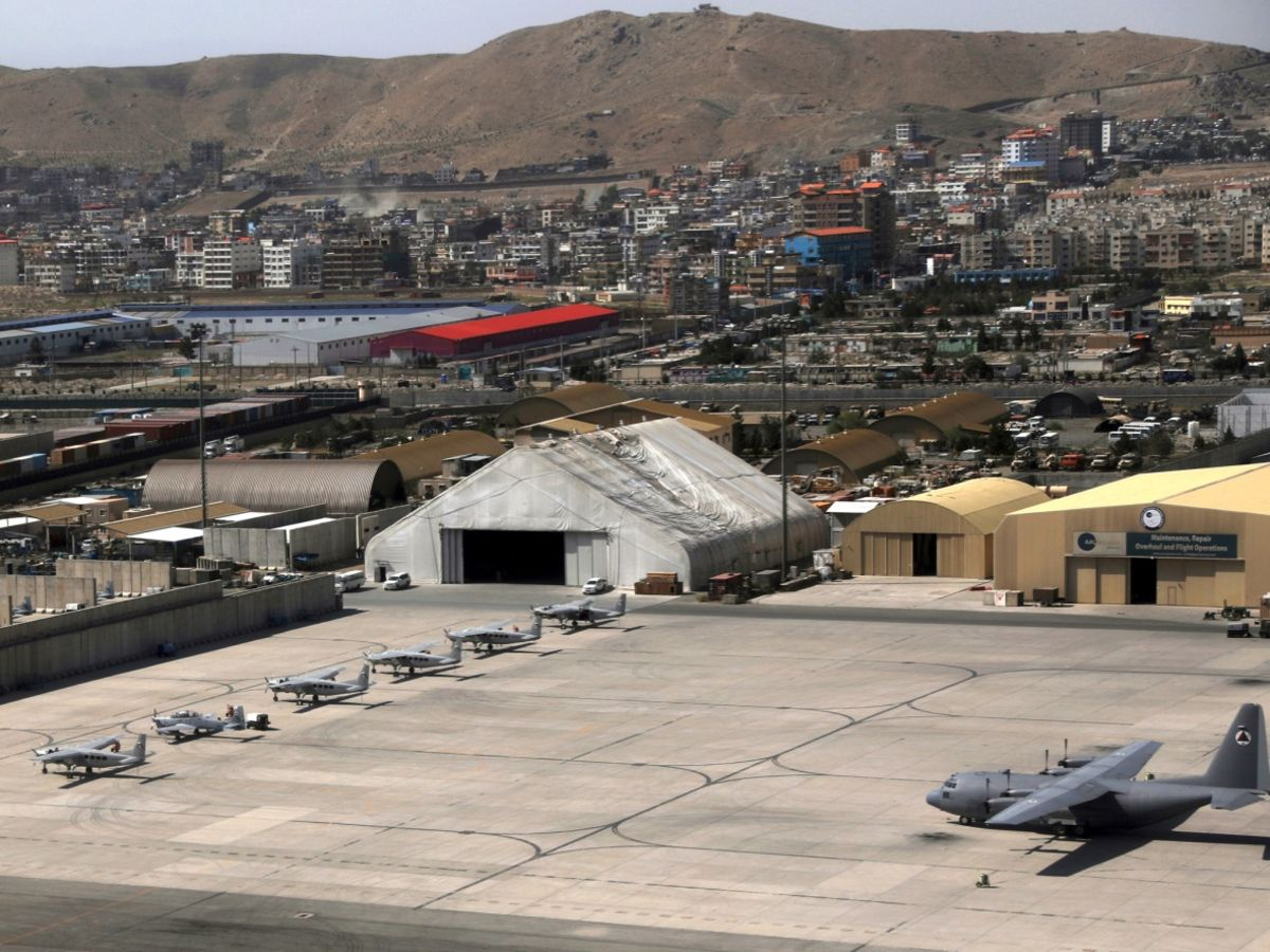 Erdogan Demands U.S. Support to Take Over Kabul Airport Security