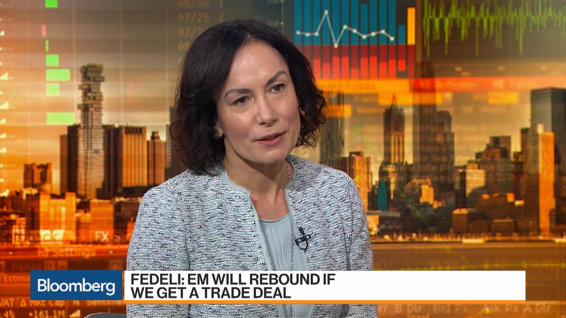 Emerging Markets Will Rebound on Trade Deal: Fabiana Fedeli