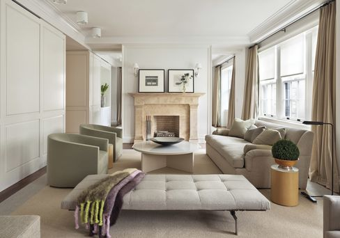 A living room in the Marquand.