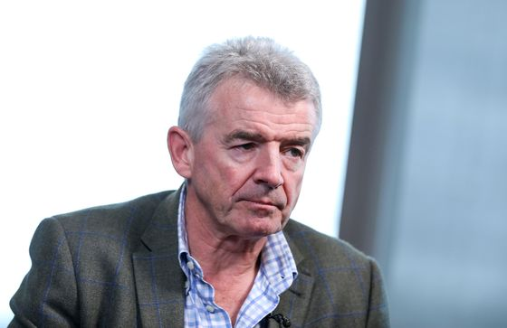 Ryanair's O'Leary Takes Swipe at Boeing Over Max Jet Delays