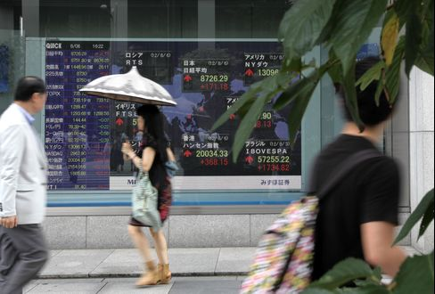 Most Asian Stocks Rise as China, U.S. Boost Stimulus Speculation
