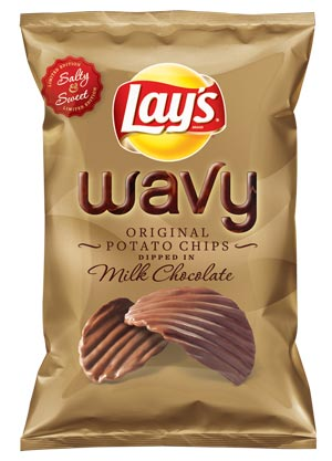 Lay's New Chocolate-Covered Potato Chips: For Women, of Course
