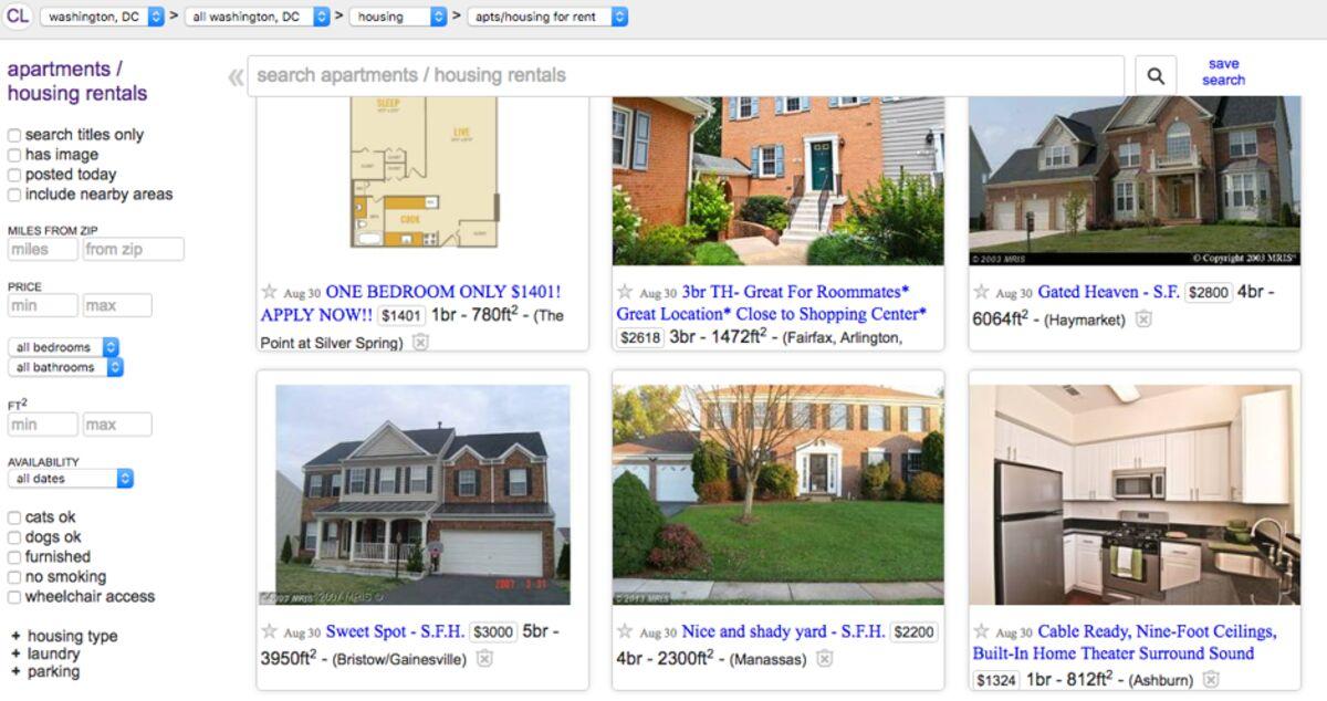 Berkeley S Urban Analytics Lab Probes Craigslist For Housing Data Bloomberg