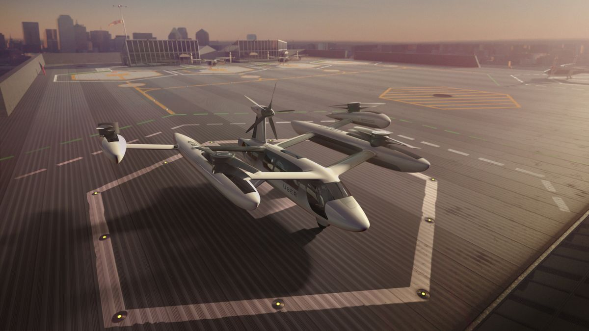 Your Flying Uber Will Arrive in Four Years