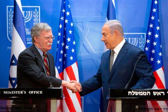 Netanyahu Tells Bolton Israel Values 'All Manner' of U.S. Aid