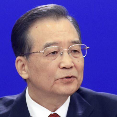 Wen Jiabao, China's premier