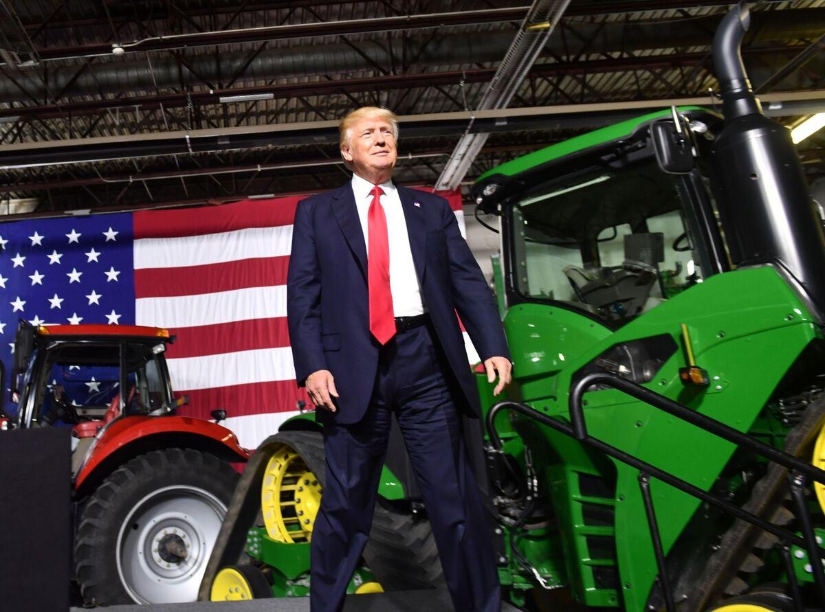 Trump Pledges Rural Broadband Support in Infrastructure Package – Bloomberg