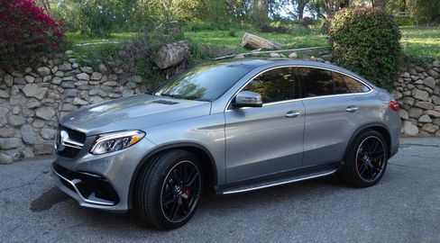 The Mercedes AMG GLE63 S.