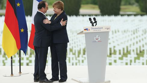 France And Germany Commemorate 100th Anniversary Of Verdun Battle