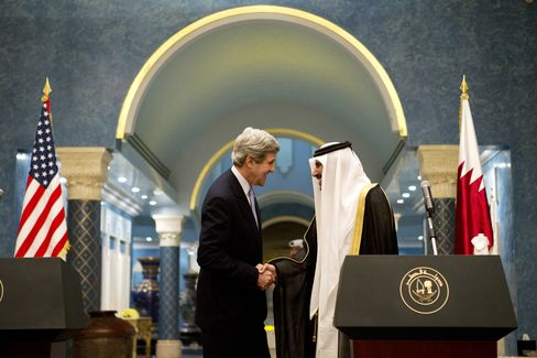 Kerry's Listening Tour Draws Appeals for Bigger Role in Mideast