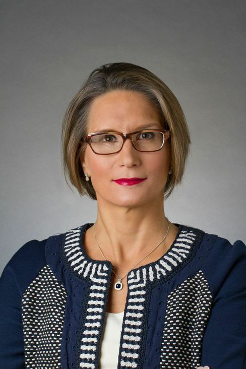 Andrea Maechler, who was born in 1969 and studied in Toronto, Geneva, Lausanne and California, is the first woman to join the SNB's top echelon since the central bank was founded in 1907. Source: SNB via Bloomberg