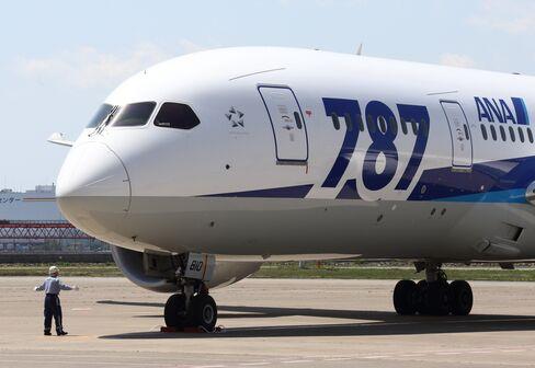 ANA Says 787 Grounding to Cut Sales 9 Billion Yen This Year