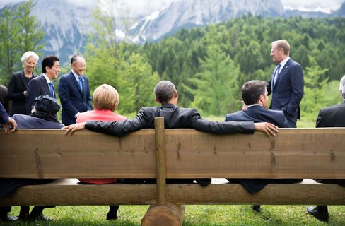 Merkel Hosts G-7 in Germany