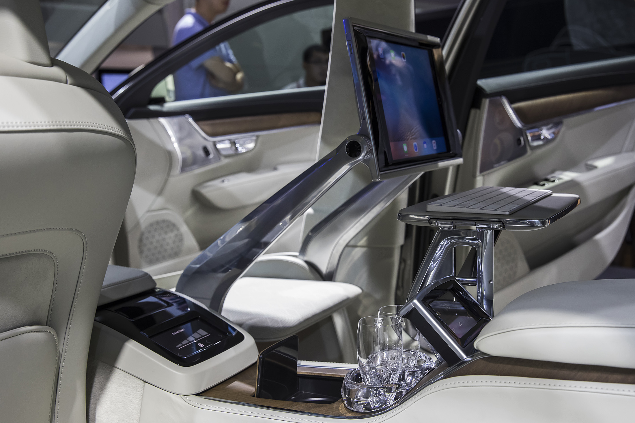 Inside the Volvo S90 Excellence Sedan