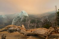 Smoke Over Yosemite National Park As Fires Continue To Rage In California