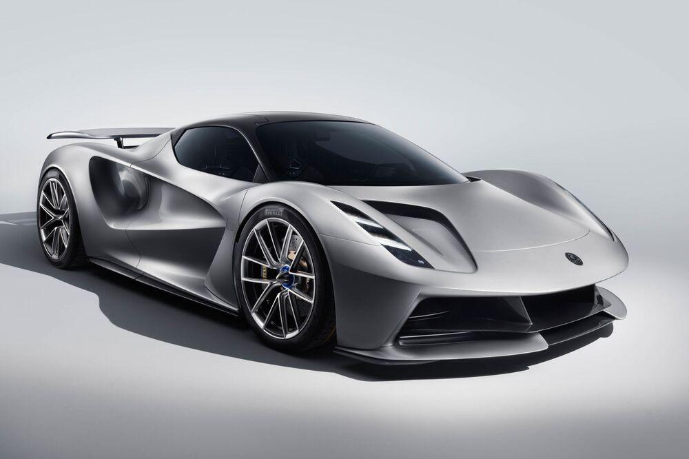 New Lotus Car: Electric Evija Supercar Specs, Photos - Bloomberg