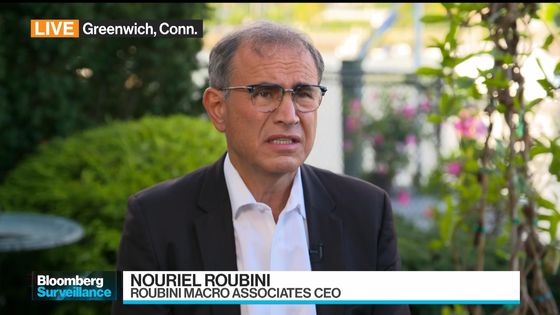Roubini Says He's 'Dr. Realist' by Warning of Global-Debt Trap