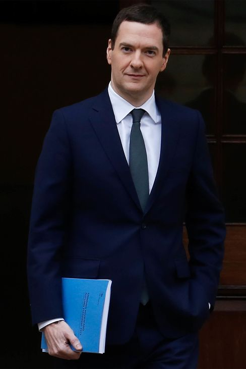 U.K. Chancellor of the Exchequer George Osborne.