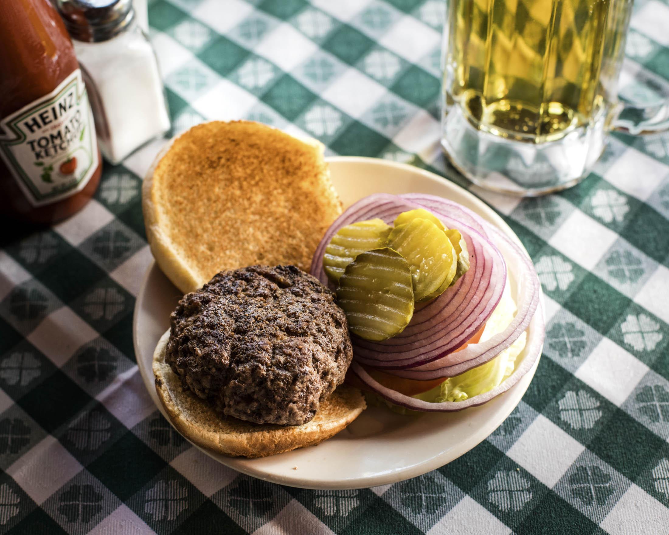 The Hamburger at JG Melon