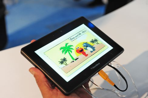 RIM to Sell PlayBook Tablet April 19, Taking on Apple's iPad