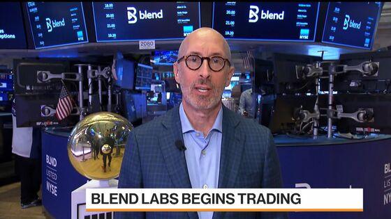 Lending Platform Blend Labs Rises in Debut After Top-End IPO