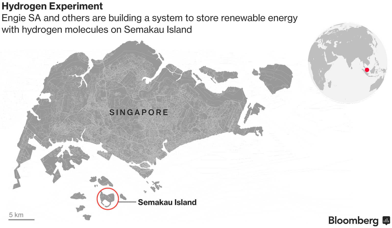 A Tiny Island Off Singapore May Hold Keys to Energy's Future