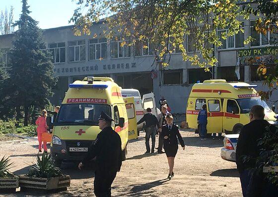 Russia Blames Student in Crimea School Attack That Killed 19