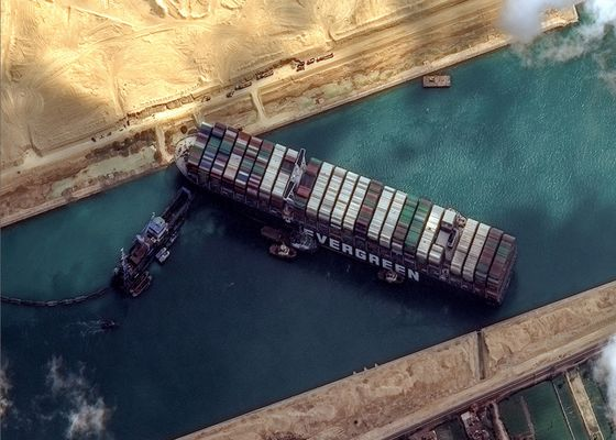 Ever Given Saga Nears End With Ship Poised to Leave Suez Canal