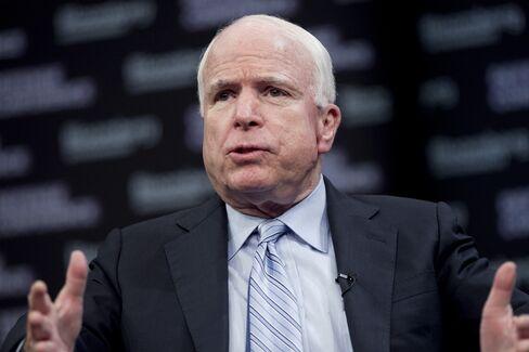 Senator John McCain of Arizona
