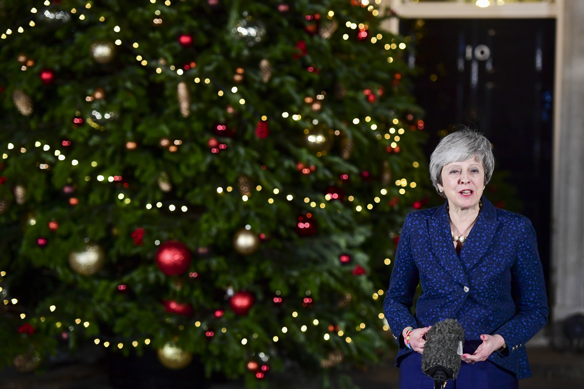 May Returns to Brexit Front Line After Surviving Ambush at Home