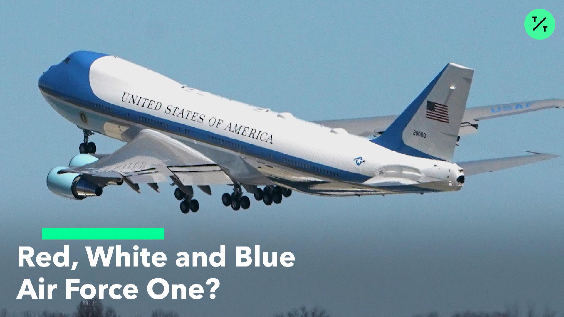 Trump Still Wants Air Force One To Be Red White And Blue Bloomberg