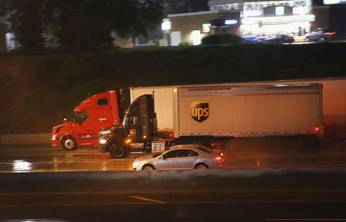 Truckers Would Appreciate It If You Drove More Carefully