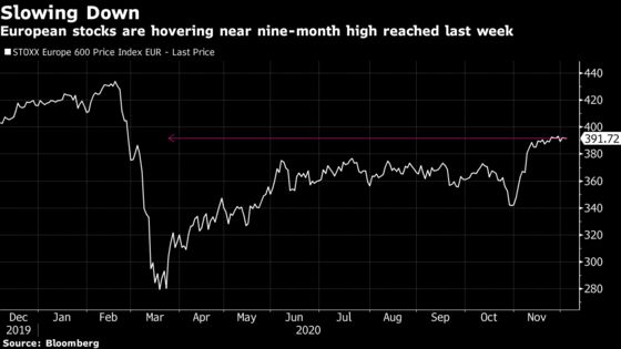 European Stocks Rise for a Fifth Week as Energy Shares Rally