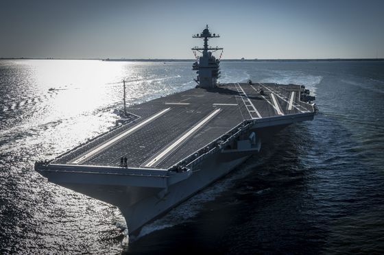 Costliest U.S. Carrier Isn't Ready to Defend Itself, Tests Show