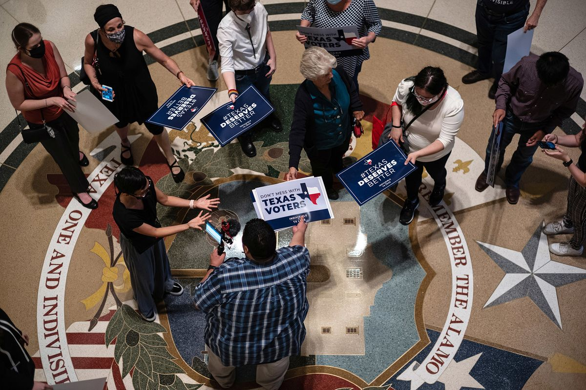 More Democrats Equal More Power for Republicans in Texas Math