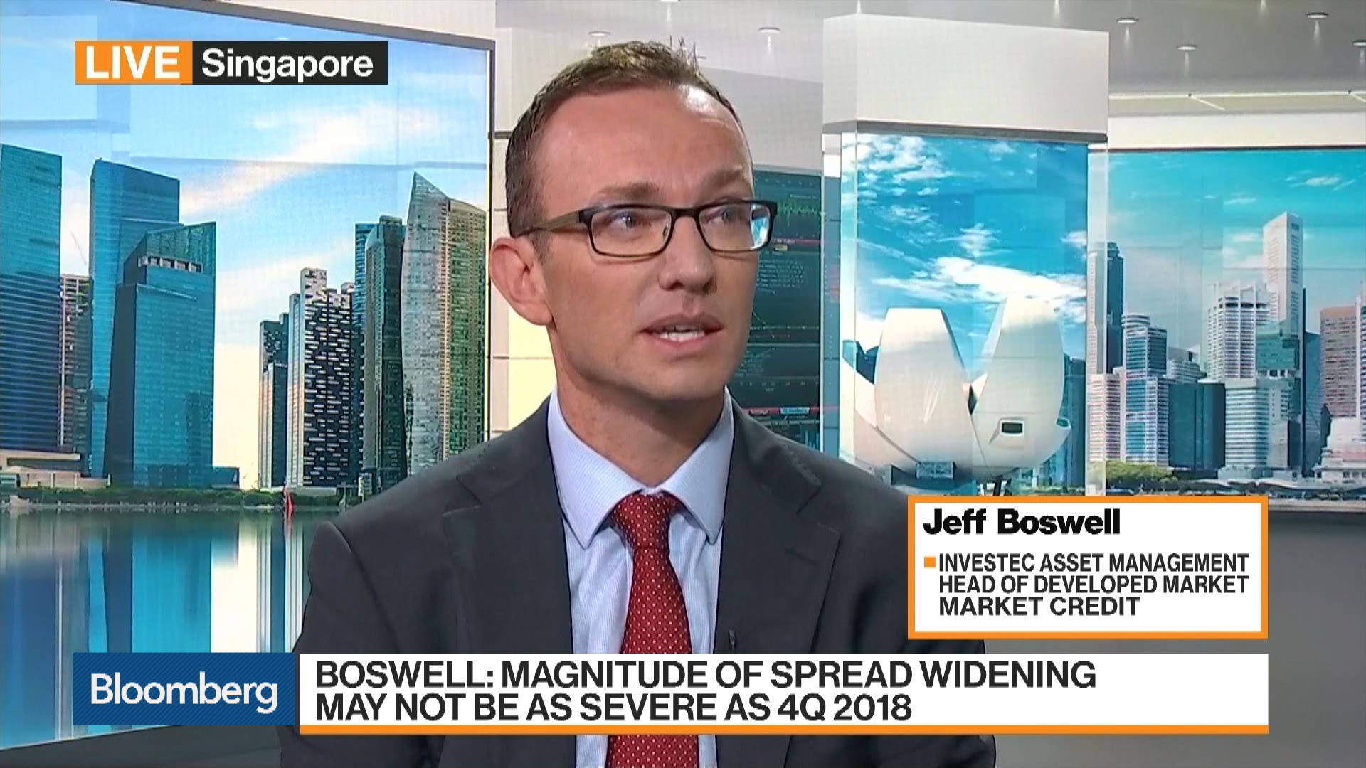 Jeff Boswell, Head of Developed Market Credit at Investec Asset Management, on ECB, Brexit