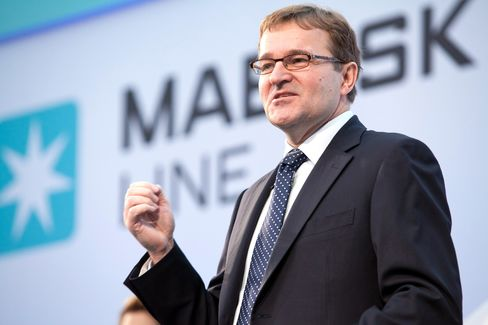 Moller-Maersk CEO Eivind Kolding