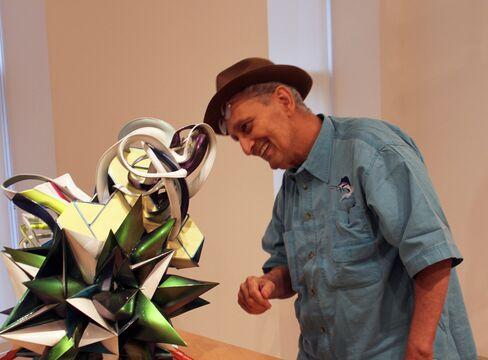 Frank Stella with 'k.162'