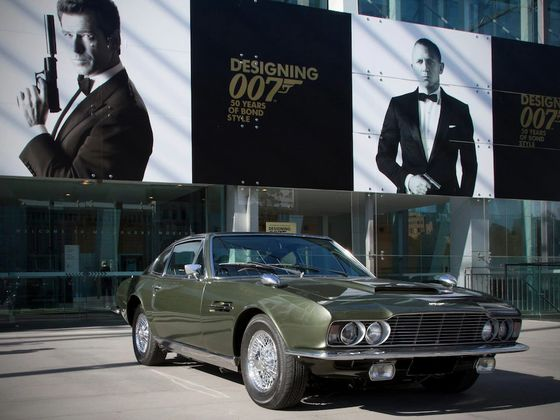 A Cameo in a James Bond Film Can Increasea Car's Value by 1,000%