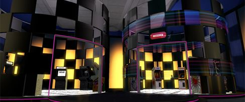 Architect Designs Sony's Virtual World