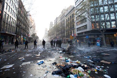 Spain Is on the Bleeding Edge of a New European Crisis