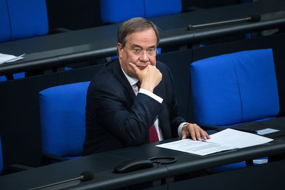 German Coalition Talks Could Go to End of Year, Laschet Says