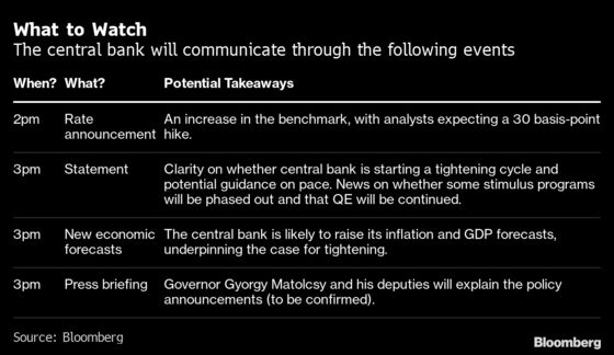 Hungary to Hike Rates as Governor Flags Risks: Decision Guide